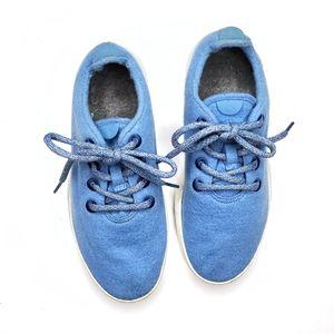 Allbirds Wool Runners Women Light Blue Sneakers